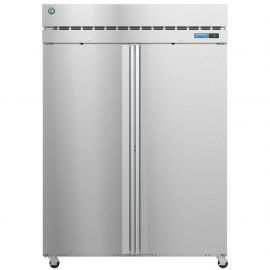 Hoshizaki  F2A-FS, Freezer, Two Section Upright, Full Stainless Doors with Lock