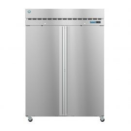 Hoshizaki  R2A-FS, Refrigerator, Two Section Upright, Full Stainless Doors with Lock