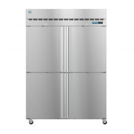 Hoshizaki  R2A-HS, Refrigerator, Two Section Upright, Half Stainless Doors with Lock