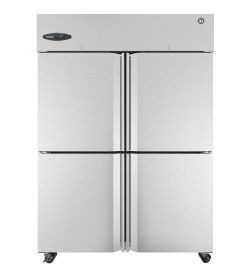 Hoshizaki  CR2S-HS, Refrigerator, Two Section Upright, Half Stainless Doors