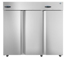 Hoshizaki  CR3S-FS, Refrigerator, Three Section Upright, Full Stainless Doors