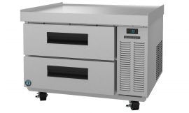 Hoshizaki CRES36, Refrigerator, Single Section Equipment Stand Prep Table, Stainless Drawers