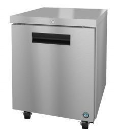 Hoshizaki CRMF27 Freezer  Single Section Undercounter Stainless Steel Cylinder Door Locks