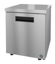 Hoshizaki CRMR27-LP, Refrigerator, Single Section Undercounter, Stainless Door