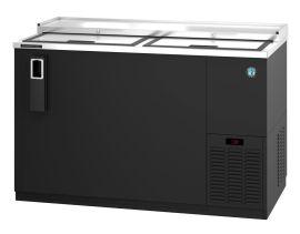 Hoshizaki HBC-50-S, Refrigerator, Two Section, Stainless Steel Back Bar Bottle Cooler, Slide Top Doors