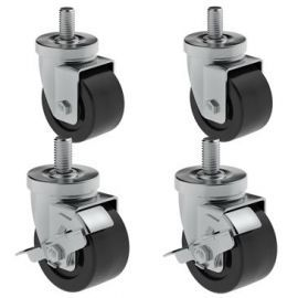 """Hoshizaki HS-3546 4"""" Casters - Set of four, two with brakes"""
