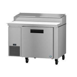 Hoshizaki PR46A, Refrigerator, Single Section Pizza Prep Table, Stainless Door
