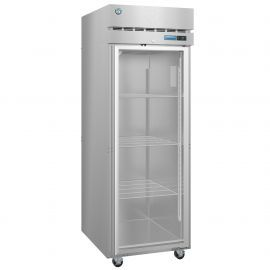 Hoshizaki R1A-FG, Refrigerator, Single Section Upright, Full Glass Door with Lock
