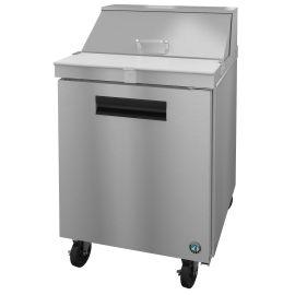 Hoshizaki SR27A-8, Refrigerator, Single Section Sandwich Prep Table, Stainless Door