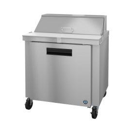 Hoshizaki SR36A-10, Refrigerator, Single Section Sandwich Prep Table, Stainless Door