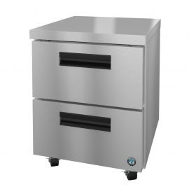 Hoshizaki UR27A-D2, Refrigerator, Single Section Undercounter, Stainless Drawers