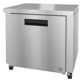 Hoshizaki UR36A, Refrigerator, Single Section Undercounter, Stainless Door