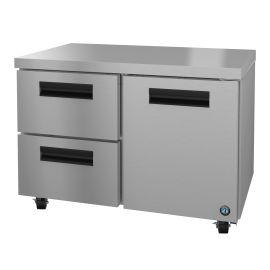 Hoshizaki UR48A-D2, Refrigerator, Two Section Undercounter, Drawer/Door Combo