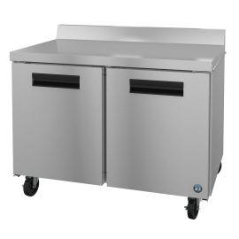 Hoshizaki WF48A, Freezer, Two Section Worktop, Stainless Doors