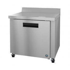 Hoshizaki WR36A, Refrigerator, Single Section Worktop, Stainless Door
