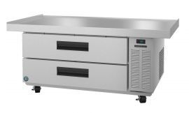 Hoshizaki CRES60, Refrigerator, Single Section Equipment Stand Prep Table, Stainless Drawers