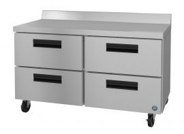 Hoshizaki CRMF48-WD4, Freezer, Two Section Worktop, Stainless Drawers