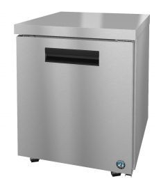 Hoshizaki CRMR27-LP, Refrigerator, Single Section Undercounter, Stainless Door