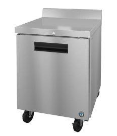 Hoshizaki CRMR27-W01, Refrigerator, Single Section Worktop, Stainless Door with Lock