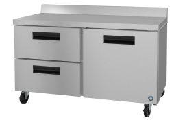 Hoshizaki CRMR60-WD2, Refrigerator, Two Section Worktop, Drawer/Door Combo