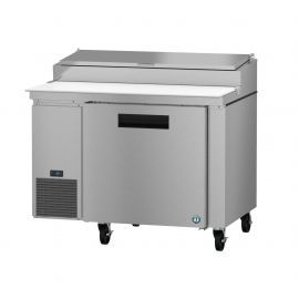 Hoshizaki PR46A, Refrigerator, Single Section Pizza Prep Table, Stainless Door