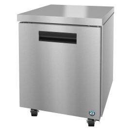 Hoshizaki UR27A, Refrigerator, Single Section Undercounter, Stainless Door
